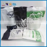 Coffee bag /al foil standing zipper drip bag coffee /block bottom coffee filter bag on China suppliers