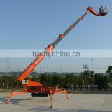 For sale China 30m aluminium mobile spider lifts