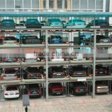Multi-level smart auto garage parking system