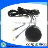 high quality 28dbi gps antenna active external car gps antenna with Magnetic screw mounting