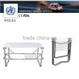 emergency accessory folding stretcher bracket to stack stretchers,stainless steel foldable folding stretcher support