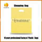 personalized package flat poly bag durable plastic shopping bags