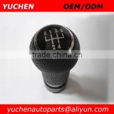YUCHEN Car Shift Gear Knob Black Gear For VW BORA GTI MK4 GOlf 4 1999-2005/Seat Leon