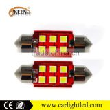 Wholesale 12V Festoon Car LED C5W Bulbs Auto Dome Lights Interior Lamp Canbus 3030 6 SMD Car Accessories