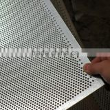 HANQING FACTORY Zinc Coated /stainless plate Punching Hole Sheet/perforated Metal Mesh(iso9001) with best service