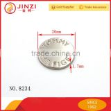 High quality custom snap button laser engraved your logo                                                                         Quality Choice