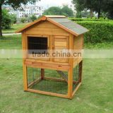 wooden rabbit cages