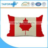 beautiful comfortable pillow cover with Canadian Flag