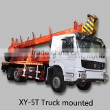 Truck mounted drilling rig XY-5T NQ BQ HQ size core drilling