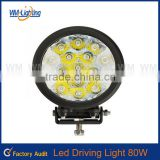 led working light led driving offroad light led boat lamp 4 x 4 ATV SUV flood/spot, 18w 80W led work light