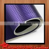 high standrad quality leather artificial for usage of chair cover, iphone .floor board paper,bed,room decoration