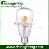 st64 e27 6w 8w dimmable led filament bulb 140lm/w led filament bulb light 3.5w st64 st64 edison bulb220v 6w carbon filament lamp