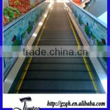 Smooth surface escalator handrail advertising material