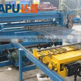 Animal cage mesh welding row machine