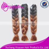kinky twist synthetic afro twist braid for hair extension synthetic curly ombre hair weave
