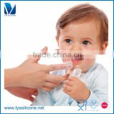 OEM/ODM Hot Selling Silicone Baby Toothbrush Manufacturer Custom Design Toothbrush For Tots