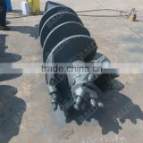 Construct machine and equipment, construction machine drilling auger, auger drill tractor