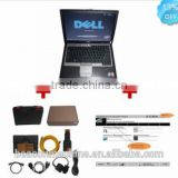 New B-MW ICOM A2 with BMW I-COM 11V Software professional universal auto diagnostic scanner Plus Dell D630 Laptop