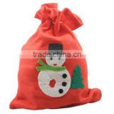 2016 Christmas Canvas Santa Sack bag Wholesale In Stock