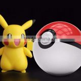Power Bank for Mobile Phone AR Game Pokemon Pokeball Power Bank 12000Mah Dual USB LED Quick Phone Charger