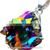 Titanium Sunshine Druzy Jewellery Sterling Supplies Buy Wholesale Costume Jewelry 925 On Silver Pendants