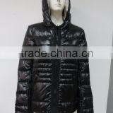 Brand name women winter softshell down jacket