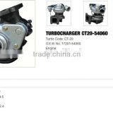 CT20 Turbo charger /Turbocharger for Toyota hiace TD(H12) hilux td/land cruiser 2L
