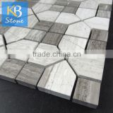 High quality marble mosaic tile for exterior wall