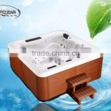 2016JY8012E Newest Arrival Outdoor Air Stainless Steel Jets China Small Bathtub Sizes with Sex Video Hot tub