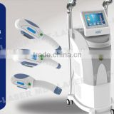 Multifunctional 2 handles E-light SHR IPL hair removal skin rejuvenation shr ipl with CE