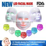 Improve fine lines Wholesale New Arrivail Anti-aging PDT Beauty Machine 590 Nm Yellow  Led Light Therapy Face Mask 7 Colors With CE