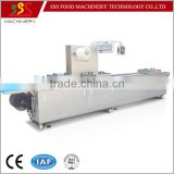 High Efficiency Automatic thermoforming vacuum packing machinery with automatic marking system