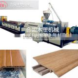 Plastic small profile machine pvc tile corner trim/ pvc skirting making machine