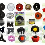 nylon head / trimmer head / nylon cutter,brush grass cutter lawn mower chainsaws of blade head parts,,garden tool spare parts