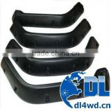 black wheel arch fender flares for jeep TJ