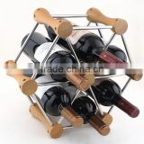 High Quality Luxury wine bottle holder bamboo wine rack for sale
