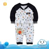 AR-270B 2017 Autumn high quality unisex baby clothes ball design cotton romper infant toddlers pajamas