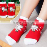 South Korean new autumn and winter baby cotton socks Christmas stockings towel thicker children's socks