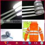 high light reflective level ribbon for transfer on sports garment