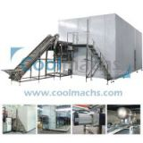 frozen green beans vegetable and fruit quick freezing blast iqf industrial freezer tunnel equipment machine price