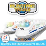 2017 Hot plastic high-speed rail toy modern electric train set