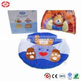 Baby bear colorful funny fancy soft plush mat for crawling gift