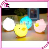 Latest fashion cute cartoon animal LED light wholesale price cute duck night lamp for kids