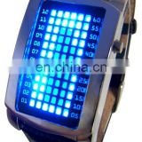 Inquiry about LED Binary Watch electronic binary watches 72 led watch