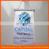 Factory Custom hot promotional teardrop flag
