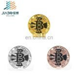 jiabo professional custom gold silver two tone metal military challenge antique souvenir coin bitcoin