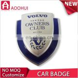 Top durable die-cast award car grill badge