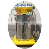Automatic color powder coating line machine for aluminum windows and doors