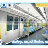 Durable easy installation FRP subway coach seat
