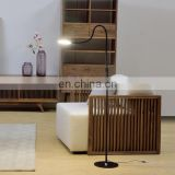 Modern high quality 9W Living Room LED Floor Lamp sensor dimmable 5 lights adjustable home floor lamp